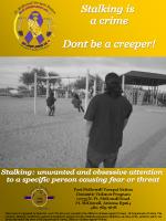 Stalking Poster